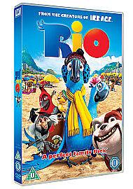 Rio (DVD, 2012) new