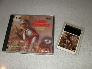 LODE-RUNNER-Lost-Labyrinth-Hucard-import-JAP-cib