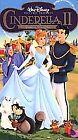 Cinderella II: Dreams Come True (VHS, 2002)