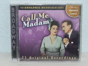CD-THE-BROADWAY-MUSICAL-SERIES-034-CALL-ME-MADAM-034-NEU-NEW