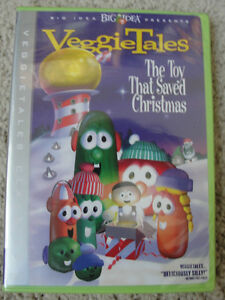 VeggieTales - The Toy That Saved Christmas DVD *NIP* 794051700827 ...