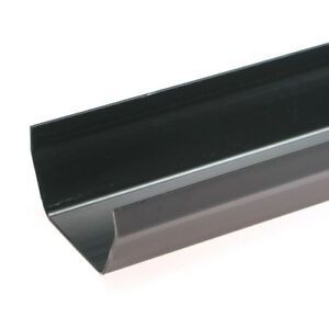 Black-SQUARE-Guttering-and-Fittings-Gutter-Size-117mm-x-57mm-x-3-6m