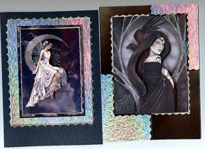 PERSONALISED-BIRTHDAY-CARD-FAIRY-MYSTIC-ANGEL-GOTHIC-DRAGON-FEMALE-DAUGHTER-MUM