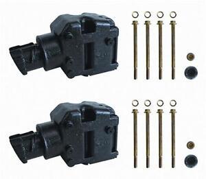 Pair-4-034-Exhaust-Risers-2-Elbows-Elbow-riser-replace-Mercruiser-44354A3