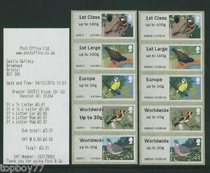 !ERRORS! - BIRDS 1 - Post and Go BRISTOL K3 5xNVI STRIP SCARCE - OFF SALE