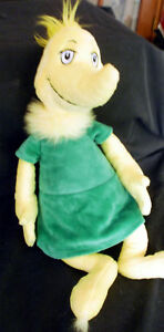 """DR. SEUSS Plush 16"""" SNEETCH~THINKS YOU CAN THINK!~Soft"""