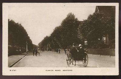 Kent ASHFORD Elwick Road 1916 RP PPC