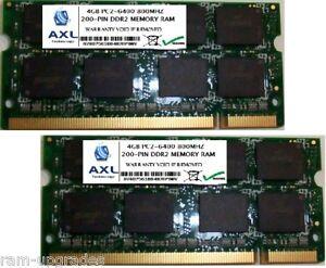 8GB-KIT-PC2-6400-DDR2-SODIMM-800MHZ-200PIN-2x4GB-MEMORY