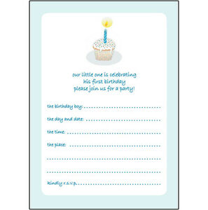 10 childrens birthday party invitations 1 year old boy nice bpif image is loading 10 childrens birthday party invitations 1 year old stopboris Images
