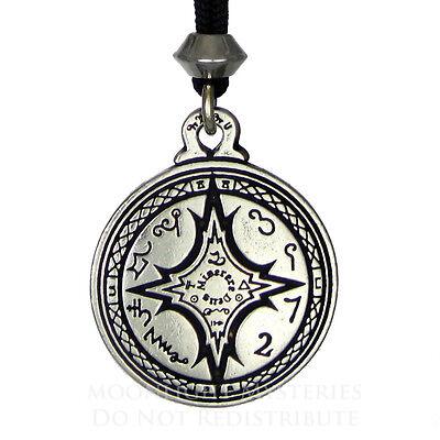 Talisman For Mastery of the Magical Arts Pendant Seal Hermetic kabbalah jewelry