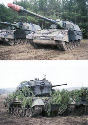 Manöver DVD: Verst. Panzerbataillon b. Gefechtschießen  -106 min-