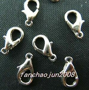 40pcs-silver-plated-lobster-clasps-12mm-W0273A