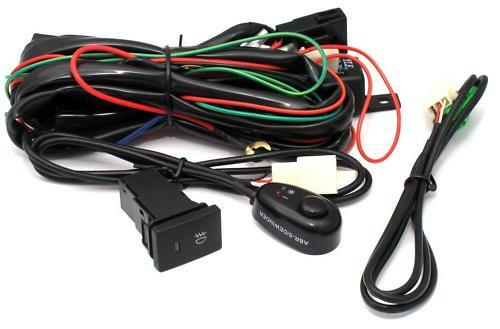 DRIVING LIGHT HARNESS FOR HID AND SPOT LIGHTS - Type 1 - ABR WITH 2 SWITCHES