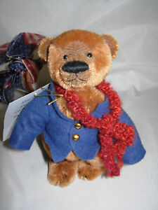 Queen-Bears-Sharon-Queen-6-034-Mohair-RODNEY-Brown-Bear