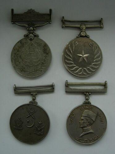 4 PAKISTAN MEDAL ORDER set lot
