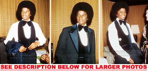 MICHAEL-JACKSON-1975-TUXEDOdMJ-3-RARE-8x10-PHOTOS