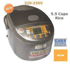 ZOJIRUSHI-NS-YSQ10-Fuzzy-Logic-Rice-Cooker-1L-220V-230V