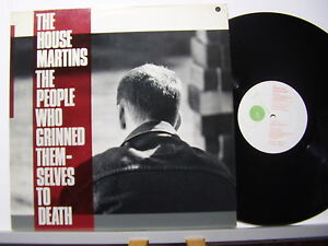THE HOUSE MARTINS disco LP THE PEOPLE WHO GRINNED THEM-SELVES TO DEATH 1987 UK - Italia - THE HOUSE MARTINS disco LP THE PEOPLE WHO GRINNED THEM-SELVES TO DEATH 1987 UK - Italia