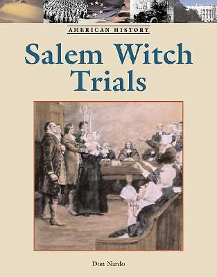 Salem Witch Trials (American History (Lucent Hardcover))-ExLibrary