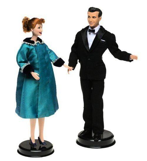 MIP Lucy & Ricky 50th aniversario Giftset 2001 Barbie muñeca marca nuevo