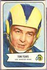 1954 Bowman Tom Fears Los Angeles Rams #20 Football Card