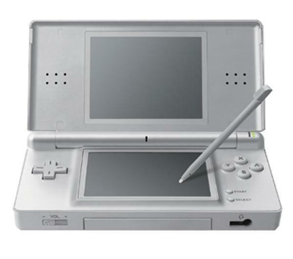 Nintendo ds lite launch edition silver handheld system ebay - List of nintendo ds consoles ...
