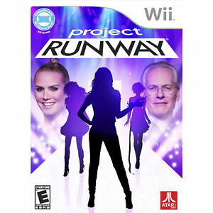 Project runway nintendo wii designer model game new ebay