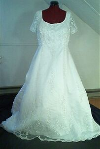 about alfred angelo plus size wedding gown purple sash refundable