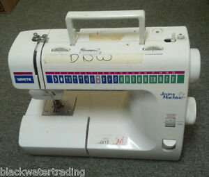 WHITE JEANS MACHINE 1999 SEWING MACHINE | eBay