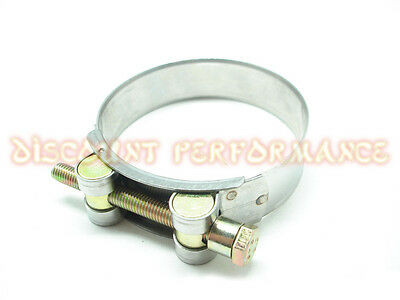 Performance Stainless Steel T-Bolt Hose Clamp Turbo Radiator Silicone 80 - 85mm
