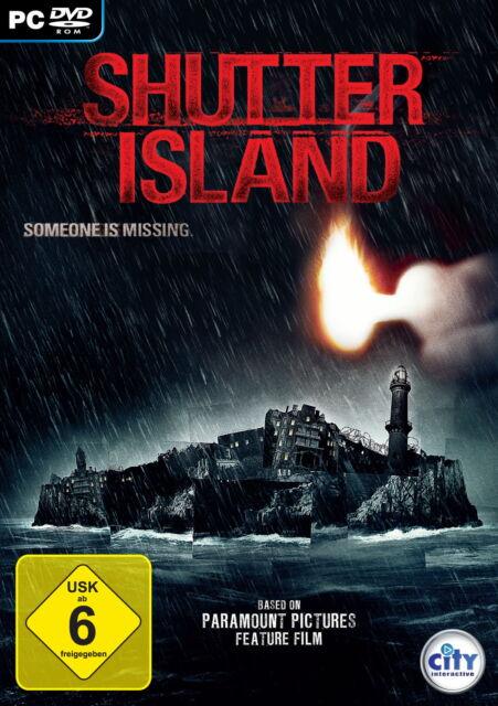 Shutter Island (PC, 2011, DVD-Box) - komplett - neuwertiger Zustand