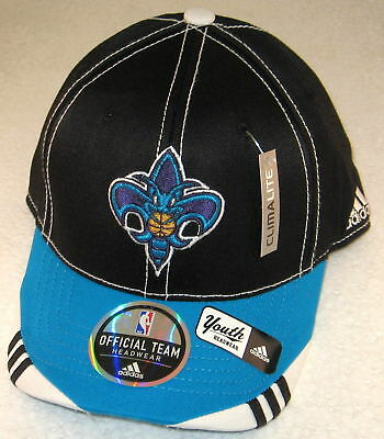 NBA New Orleans Hornets Multi-Color Youth Structured Flex Fitted Hat By adidas