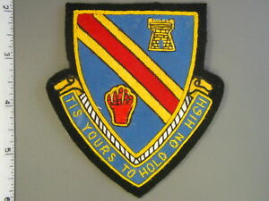 Late-U-S-Army-241st-Engineer-Bn-hand-sewn-felt-patch-brand-new-never-issued