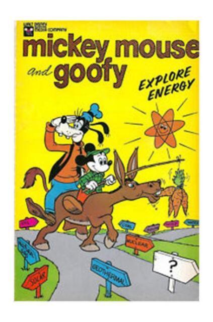 Mickey Mouse and Goofy Explore Energy #[nn] (1976, Disney)