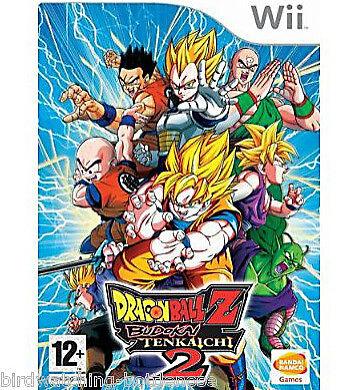 Dragon Ball Z: Budokai Tenkaichi 2 New and Sealed (Nintendo Wii, 2006)