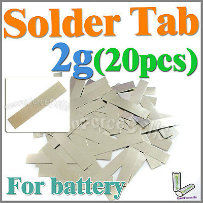 2g 20 pcs Solder Tab For Sub C AA AAA 14500 18650 Battery Cell