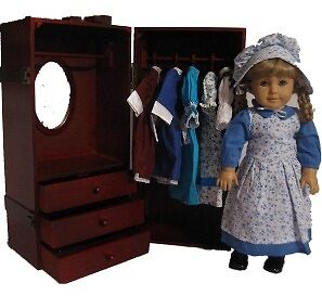 Doll-Trunk-Furniture-Wardrobe-Storage-Made-to-Fit-American-Girl-18-Inch-Doll