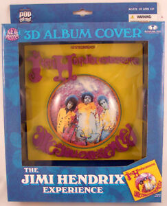 jimi hendrix 3d album cover replica poster mcfarlane new. Black Bedroom Furniture Sets. Home Design Ideas
