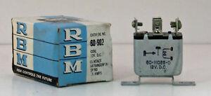 NOS-US-Made-Car-Relay-12-Volt-Single-Pole-Open-15-Amps