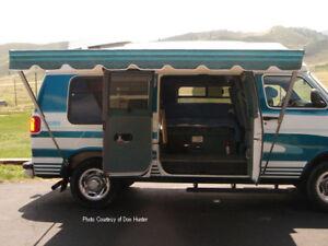 12' Supreme XL Shademker Bag Awning Pop Up Camper, Vans ...