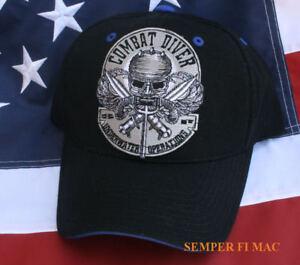 COMBAT-DIVER-HAT-CAP-US-NAVY-PIN-UP-SEAL-TEAM-6-SIX-BIN-LADEN-USS-SPECIAL-OPS