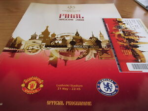 CHELSEA-V-MAN-UNITED-2008-CHAMPIONS-LEAGUE-PROG-TICKET