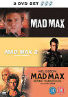 Mad Max Trilogy (DVD, 2007, 3-Disc Set, Box Set)