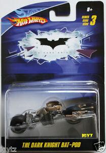 BAT-POD The Dark Knight Series 3 Hot Wheels DC BATMAN Die Cast 2009 VEHICLE
