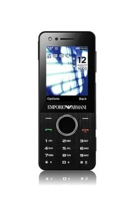 2d820b20933a Samsung  Emporio Armani GT-M7500 - Black (Unlocked) Cellular Phone for sale  online
