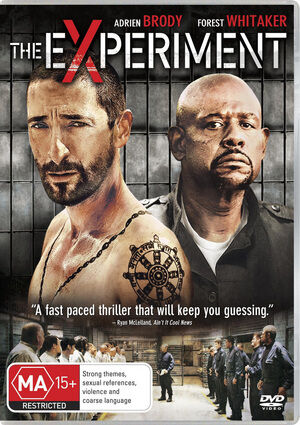 The Experiment (DVD, 2011)*R4*Adrien Brody*Terrific Condition*