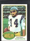 1976 Topps Dan Fouts #128 Football Card