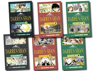 The-Saga-of-Darren-Shan-Collection-6-Books-Set-Graphics-art-comic-series-manga