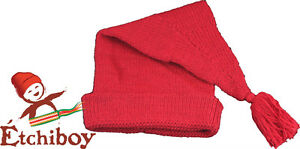 Voyageur-red-tuque-toque-hat-real-alpaca-wool-FREE-SHIPPING-CANADA-amp-USA