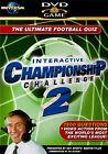 Interactive Championship Challenge 2 (DVD, 2006)